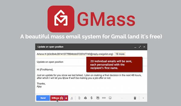 GMass signature image