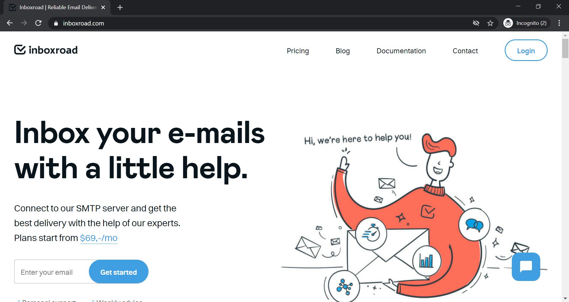 Inboxroad Homepage