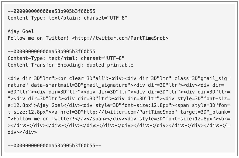 Gmail API sent from IP address
