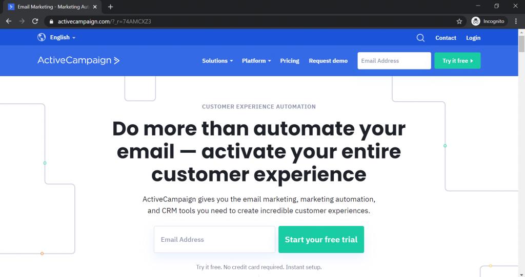 ActiveCampaign Alternatives_Homepage