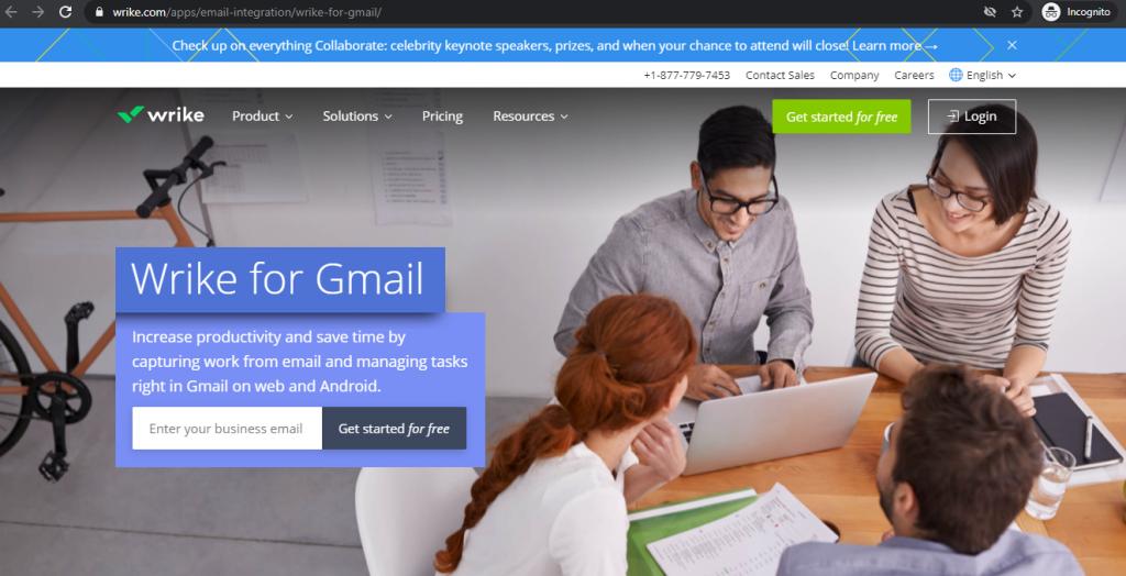 Gmail Add Ons Wrike