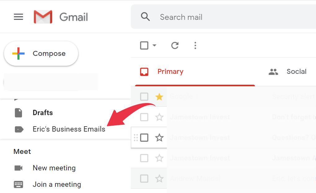 Gmail labels 4