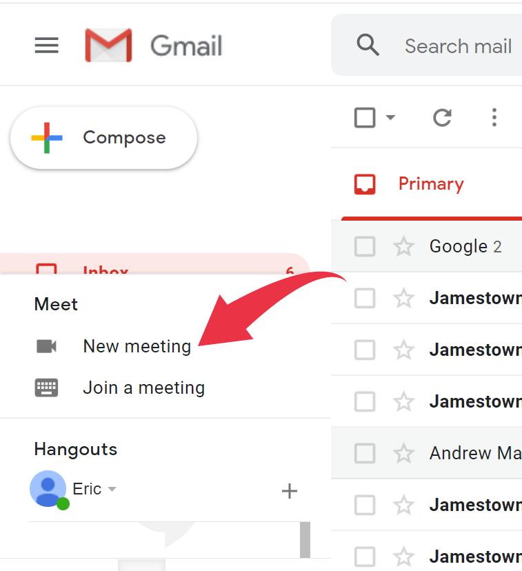 Gmail meetings 1