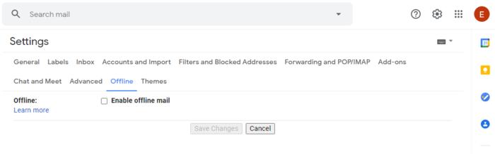 Gmail queued - Fix a queued email - Offline mode