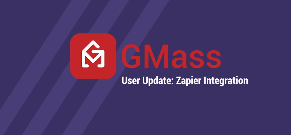 GMass Zapier integration